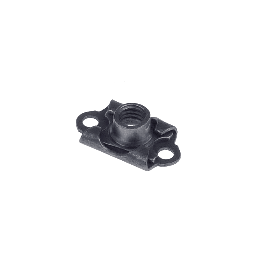 M5x0.8 miniature floating anchor nut two lugs