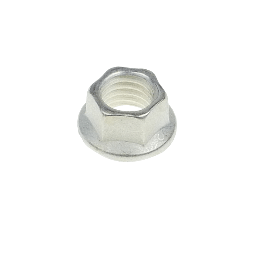 M10x1.5 hi-temp K-nut hexagonal A286 + silver plating