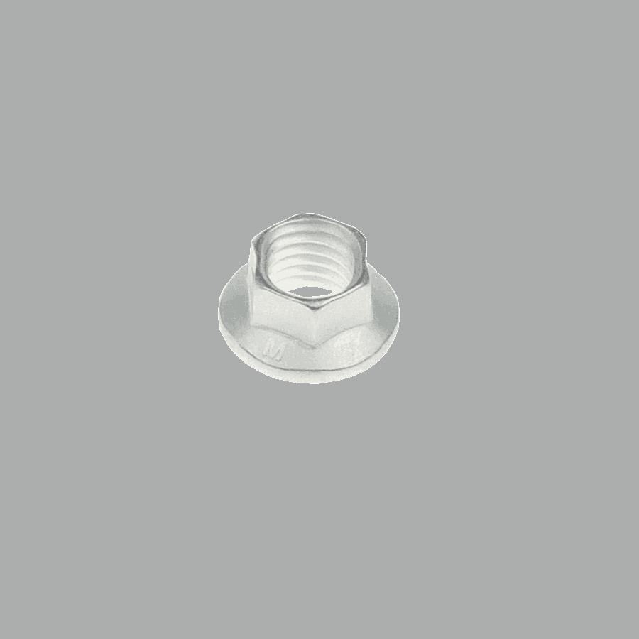 M7x1.0 hi-temp K-nut hexagonal A286 + silver plating