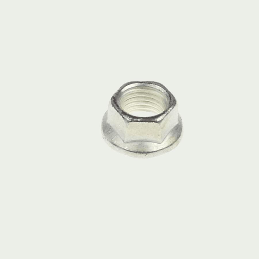 M8x1.0 hi-temp K-nut hexagonal A286 + silver plating