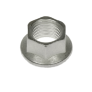 hi-temp k-nut hexagonal silver plated A286 CRES