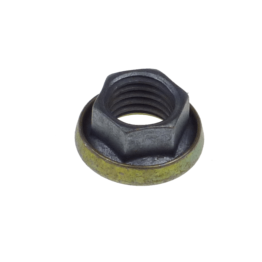 M12x1.5 hexagonal K-nut with captive washer