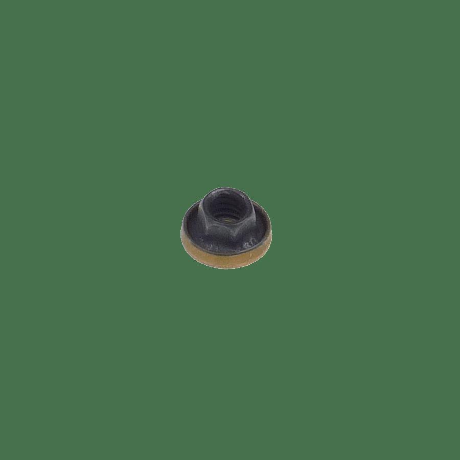 M4x0.7 hexagonal K-nut with captive washer