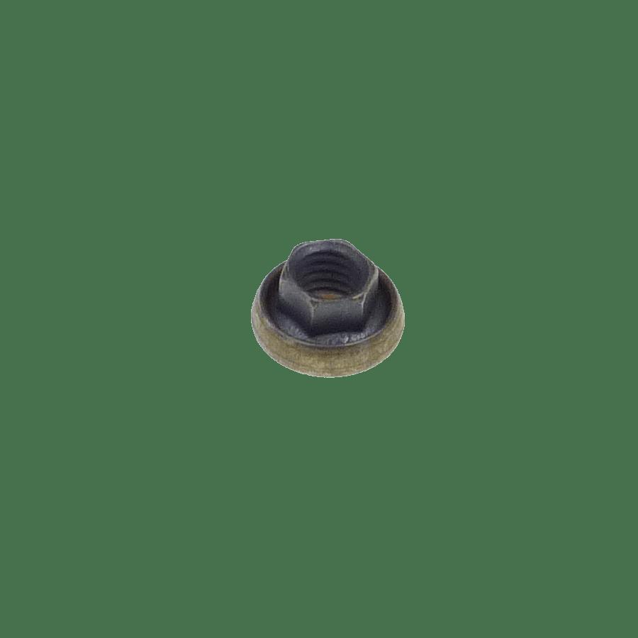M5x0.8 hexagonal K-nut with captive washer
