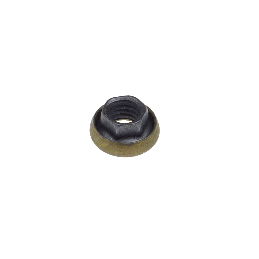 M6x1.0 hexagonal K-nut with captive washer