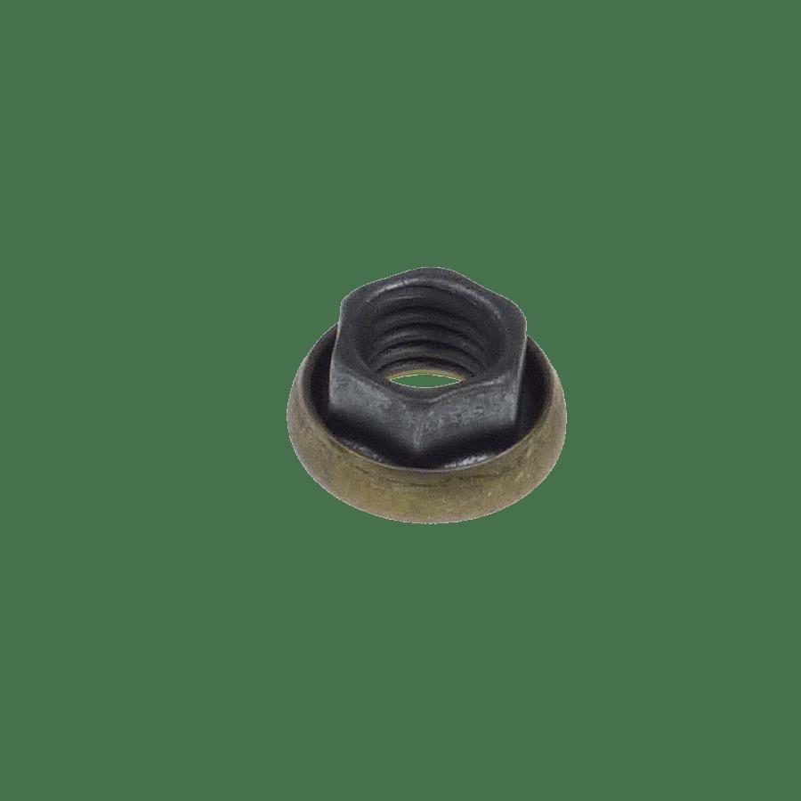 M8x1.25 hexagonal K-nut with captive washer